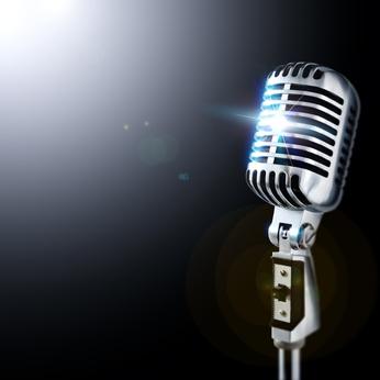 Mikrophon für Jazzsänger