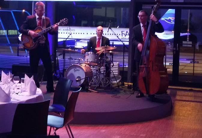Jazzband bei Airbus in Hamburg
